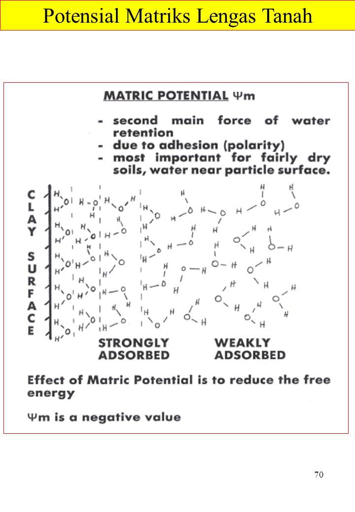 Potensial Matriks Lengas Tanah