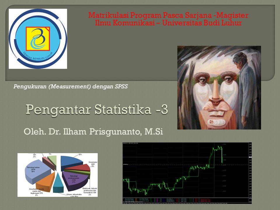 Pengantar Statistika -3