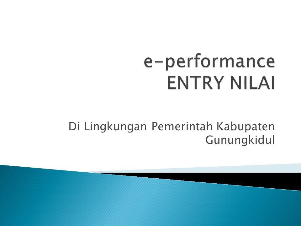 e-performance ENTRY NILAI