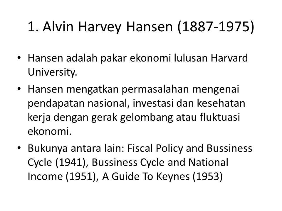 1. Alvin Harvey Hansen (1887-1975)