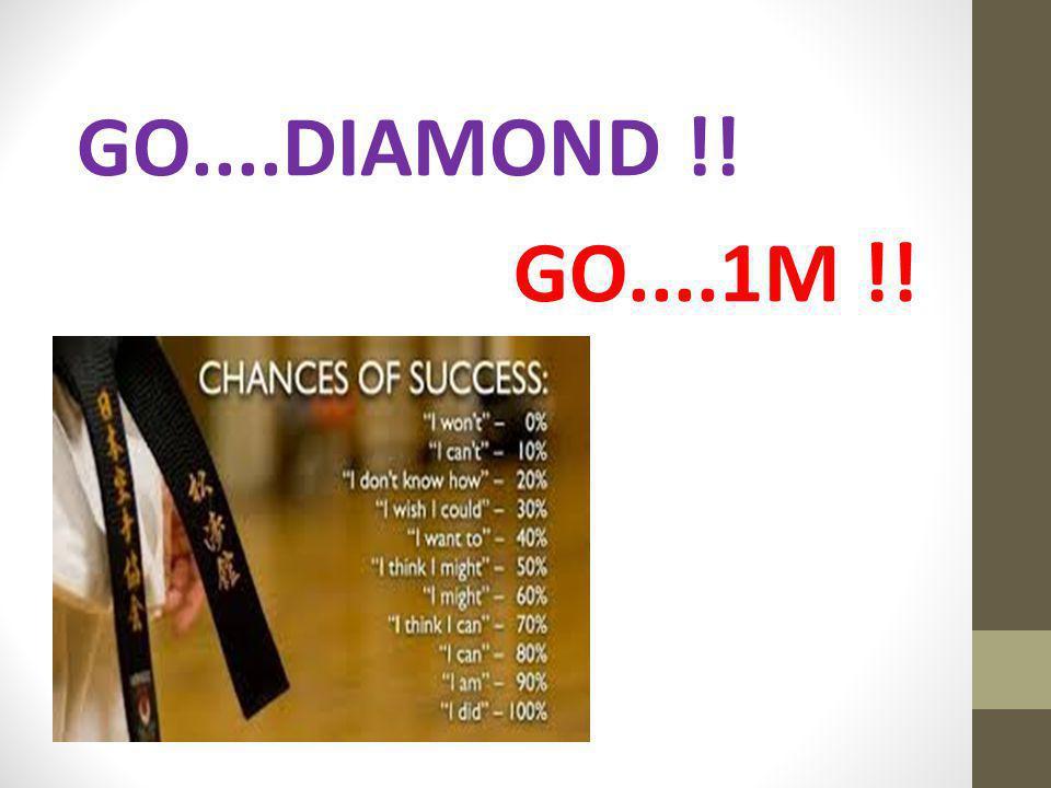 GO....DIAMOND !! GO....1M !!