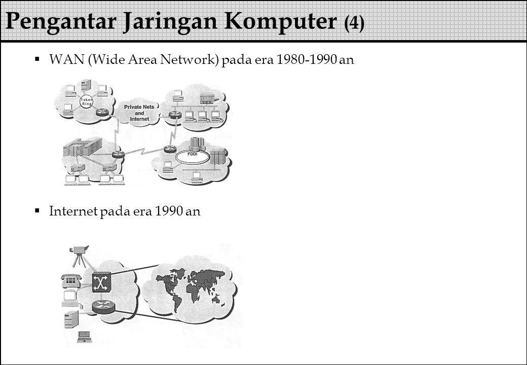 Pengantar Jaringan Komputer (4)