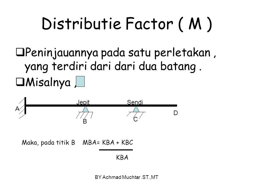 Distributie Factor ( M )