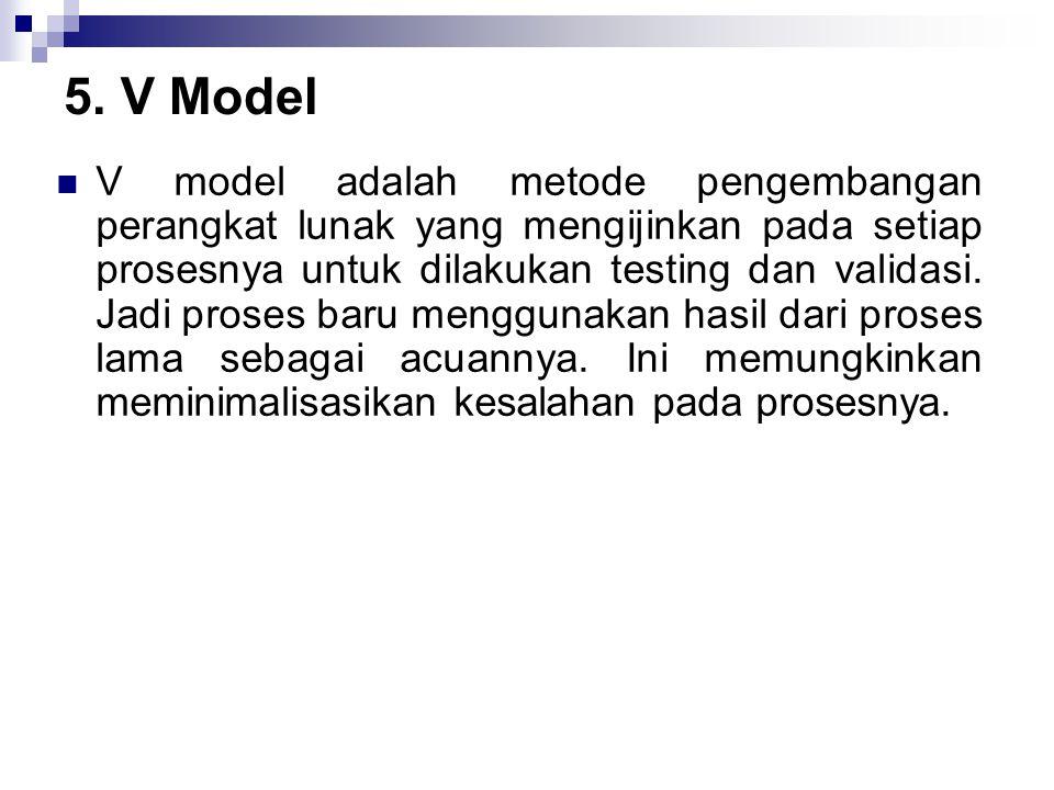 5. V Model