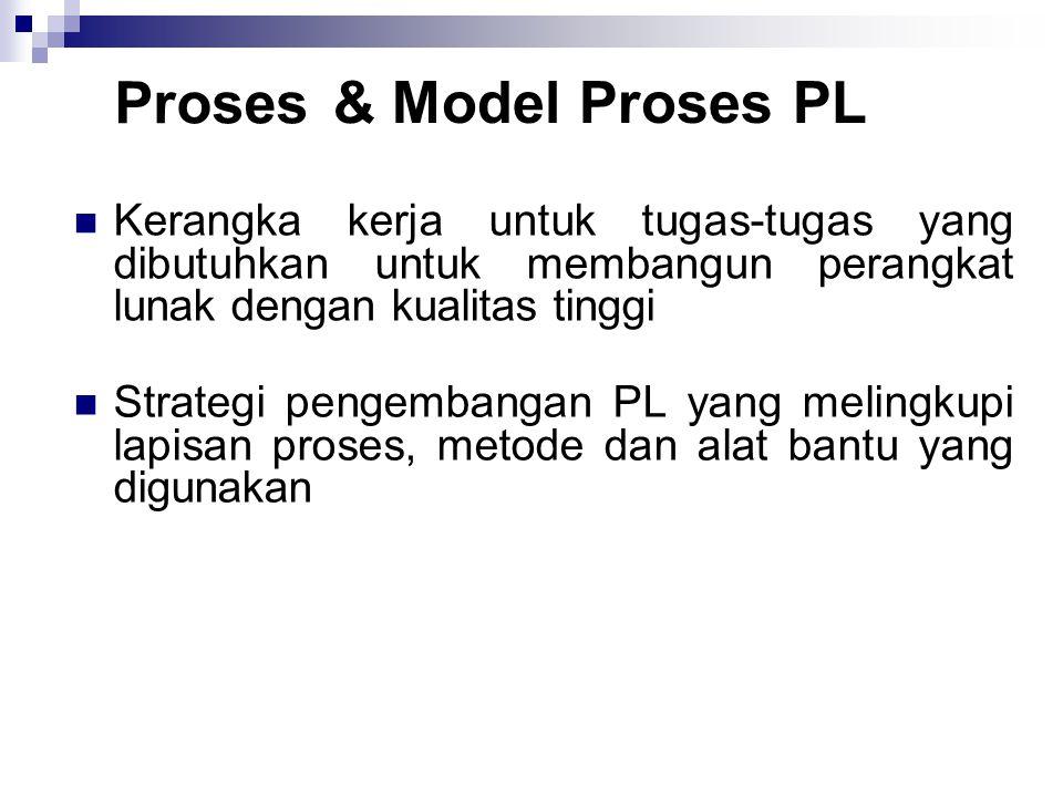 Proses & Model Proses PL