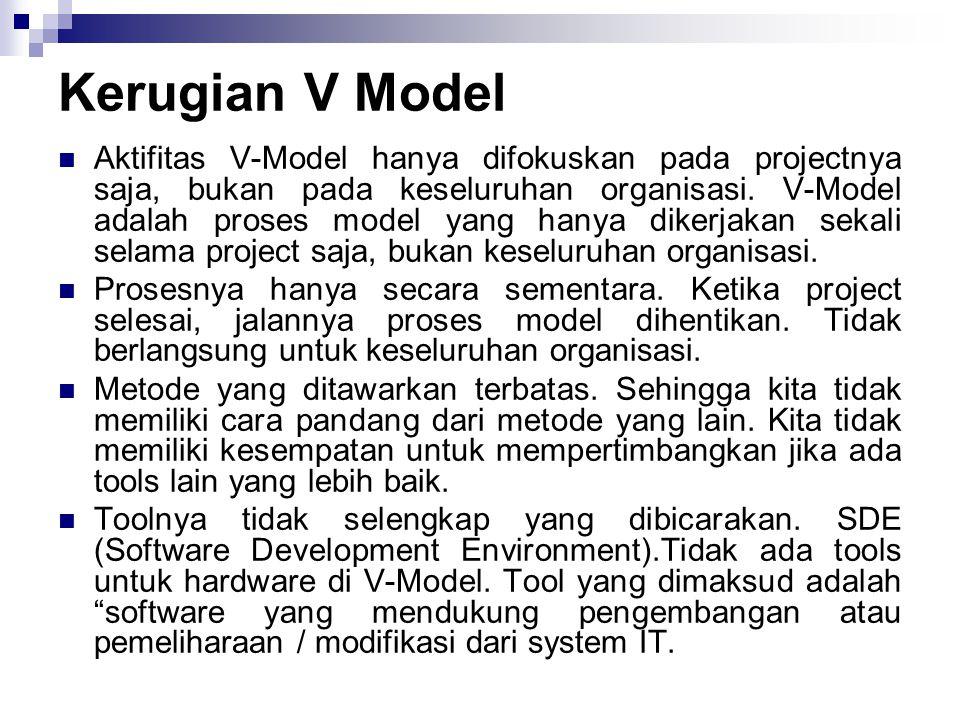 Kerugian V Model