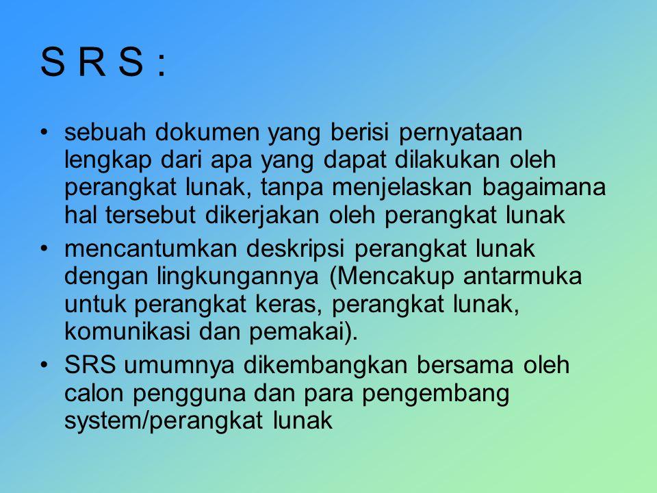 S R S :