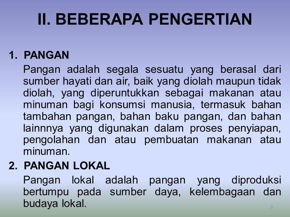 II. BEBERAPA PENGERTIAN