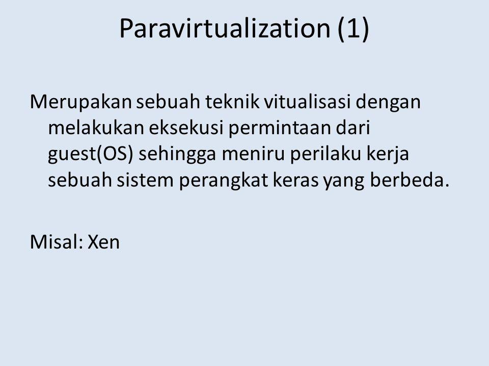 Paravirtualization (1)