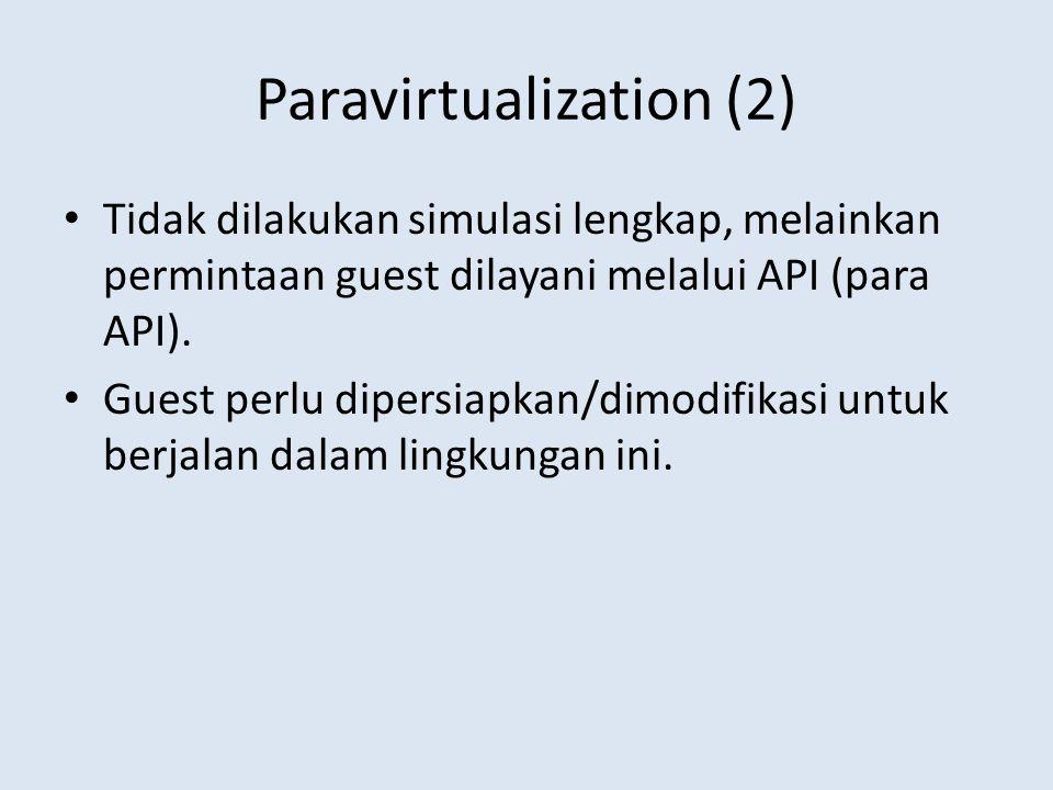 Paravirtualization (2)