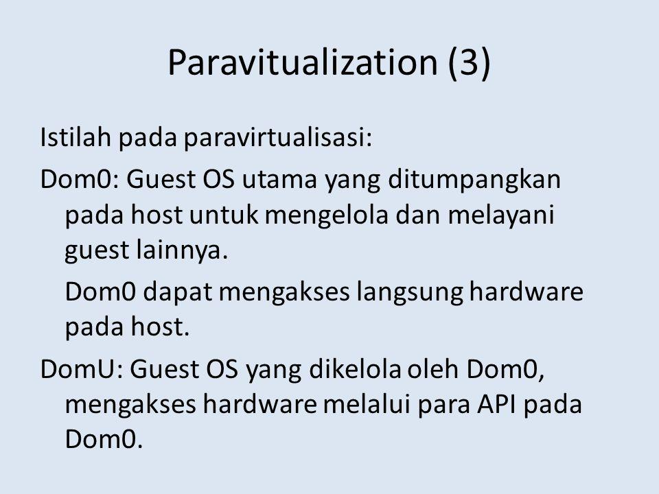 Paravitualization (3)