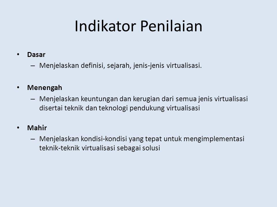 Indikator Penilaian Dasar