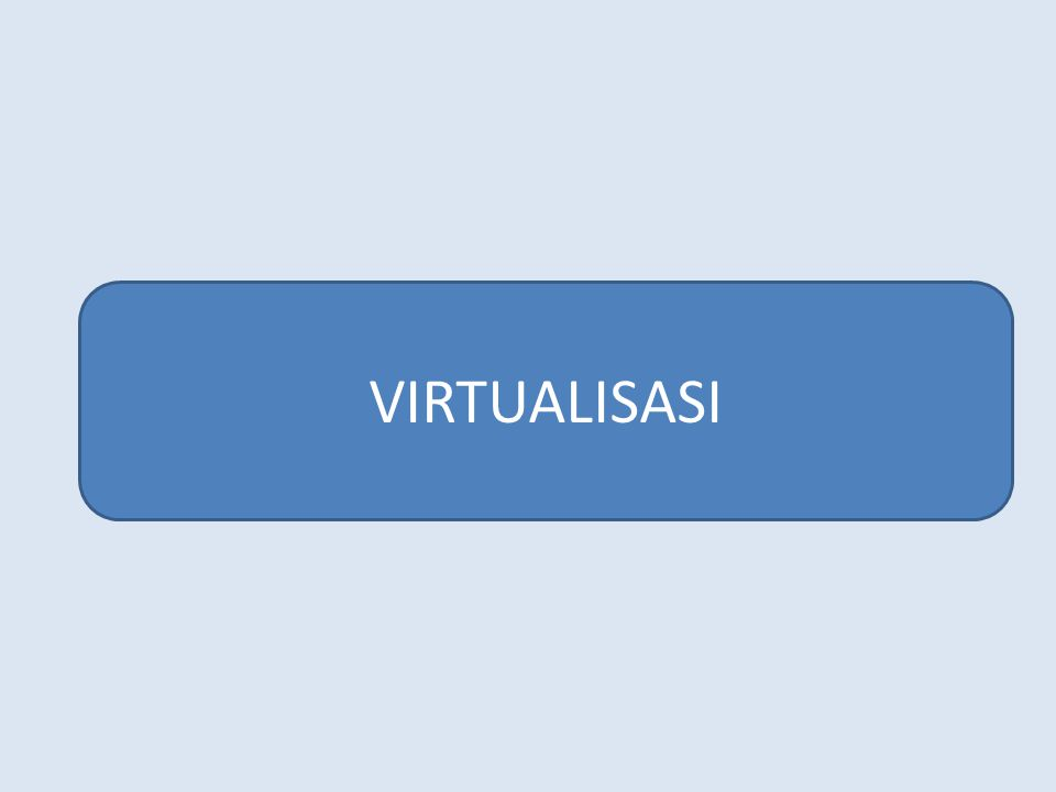 VIRTUALISASI
