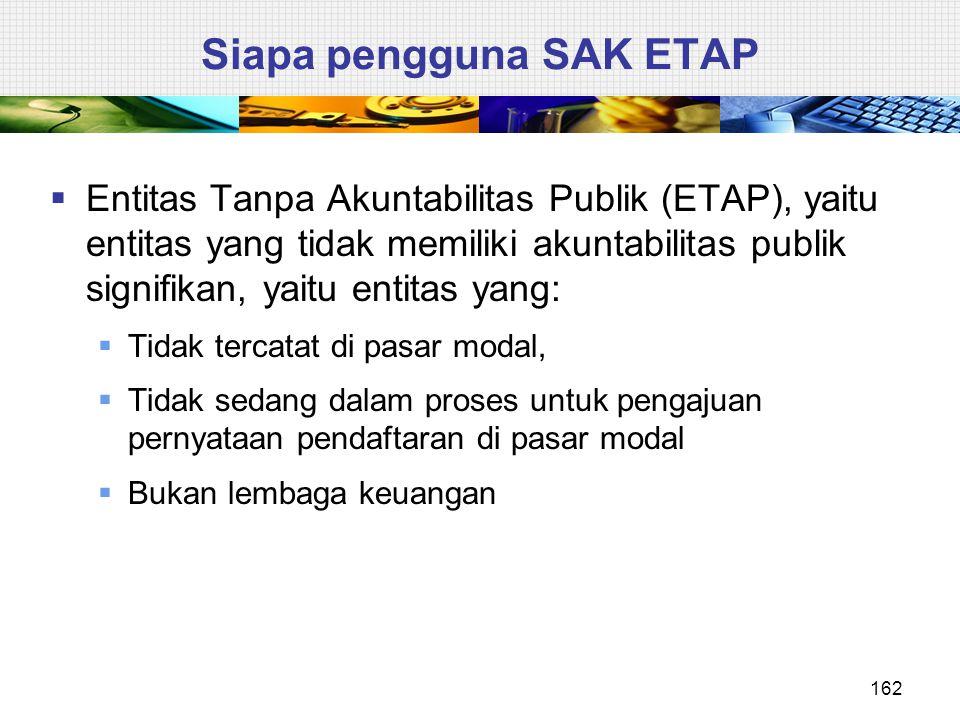 Siapa pengguna SAK ETAP