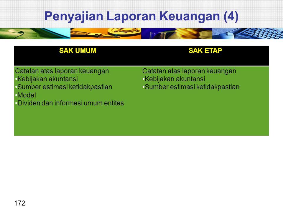 Penyajian Laporan Keuangan (4)