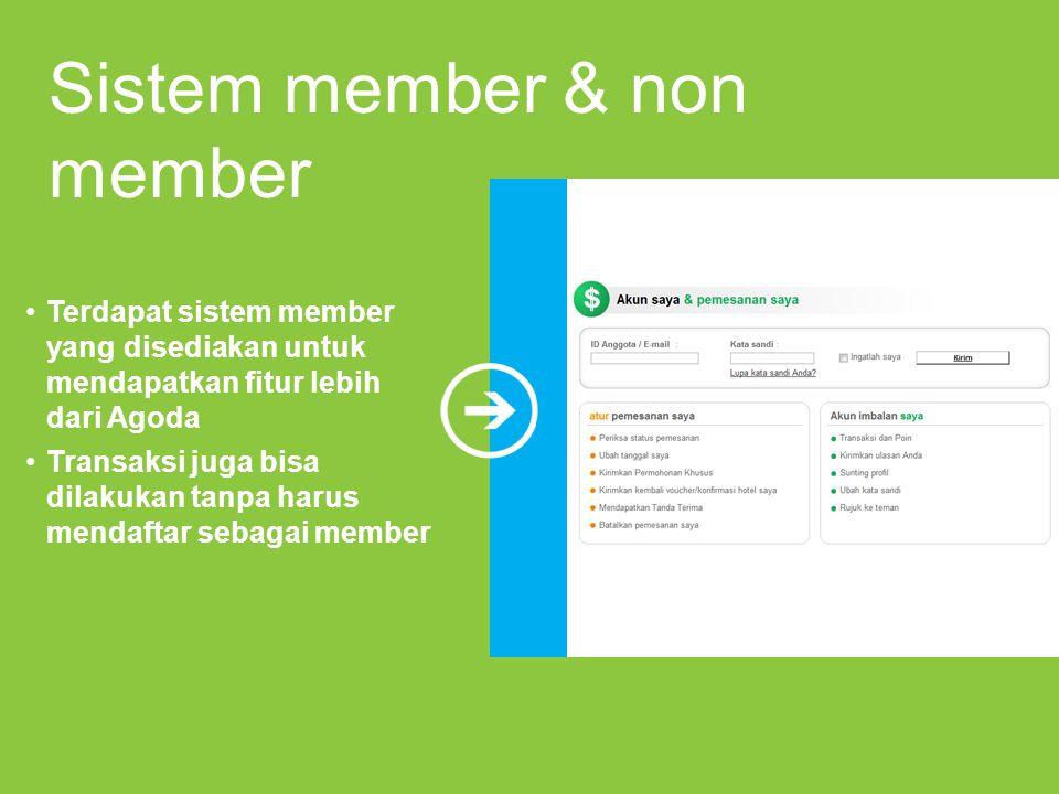 Sistem member & non member