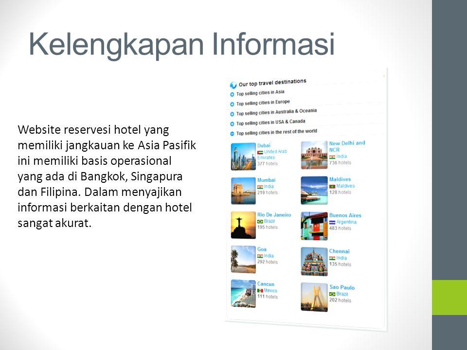 Kelengkapan Informasi