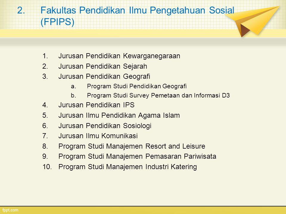 Fakultas Pendidikan Ilmu Pengetahuan Sosial (FPIPS)