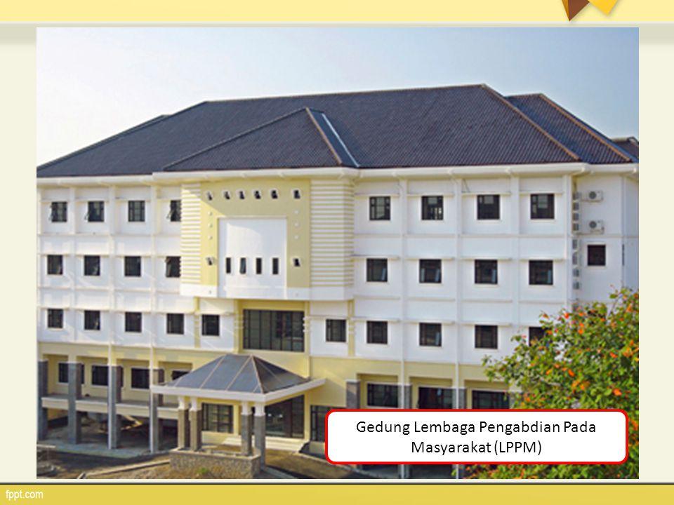 Gedung Lembaga Pengabdian Pada Masyarakat (LPPM)