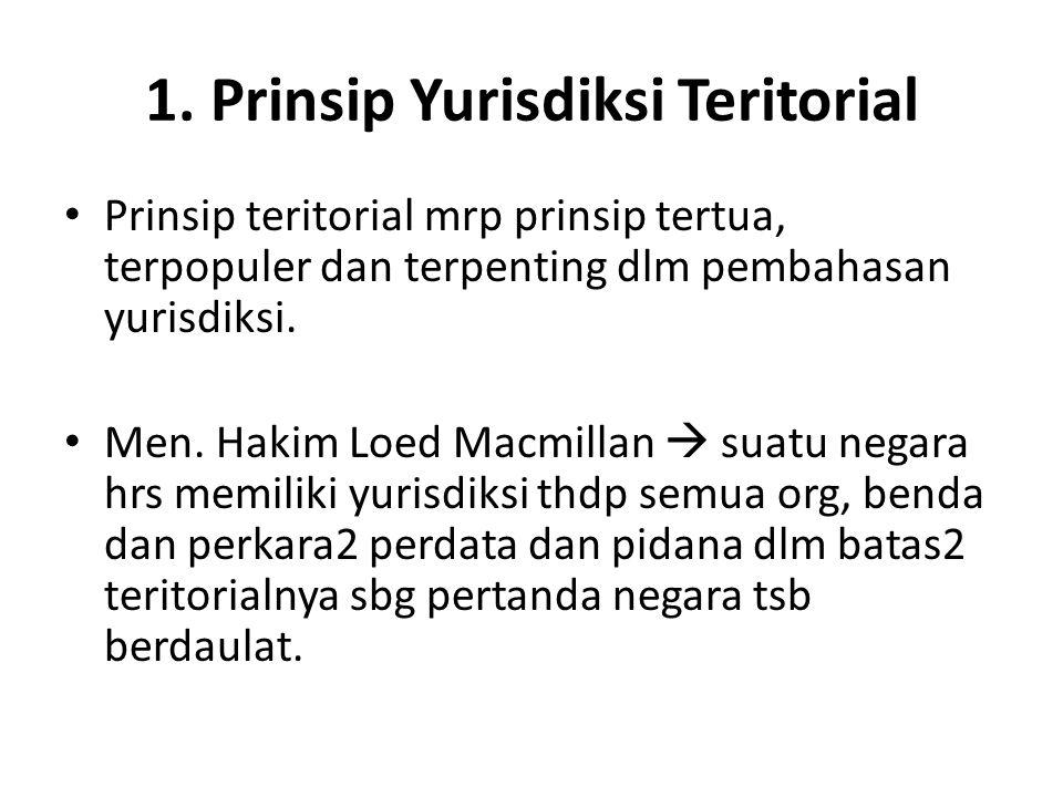 1. Prinsip Yurisdiksi Teritorial