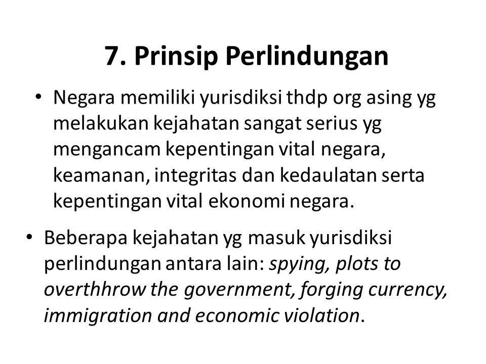 7. Prinsip Perlindungan