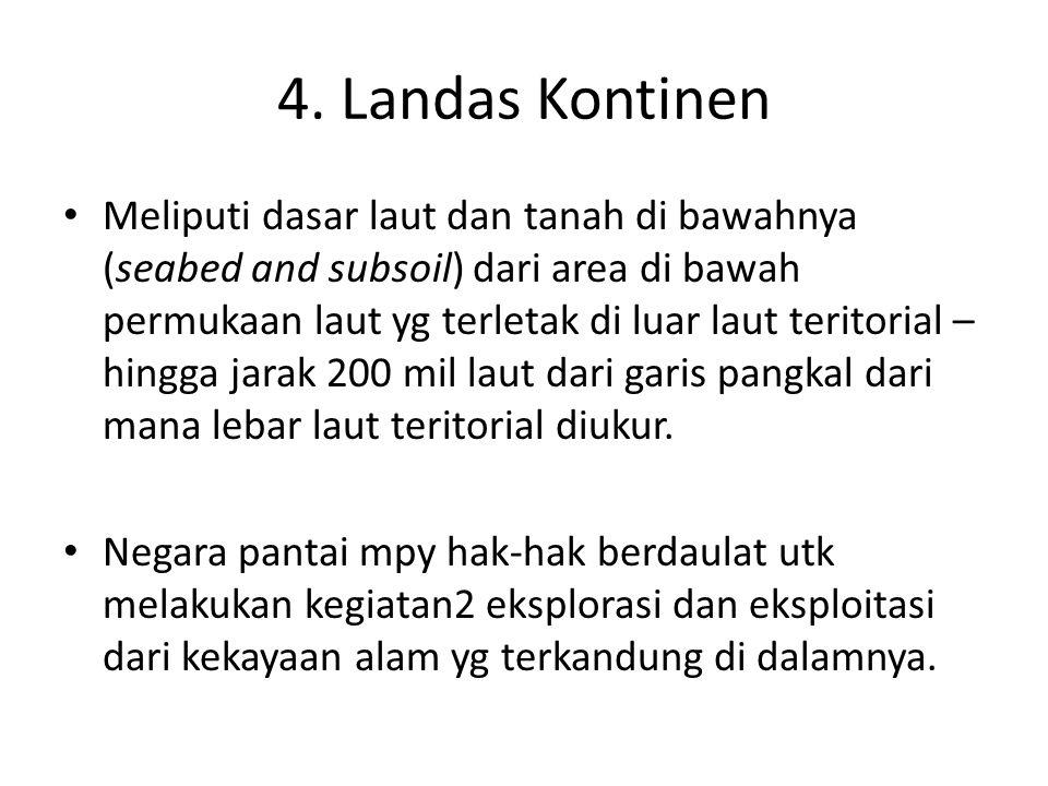 4. Landas Kontinen