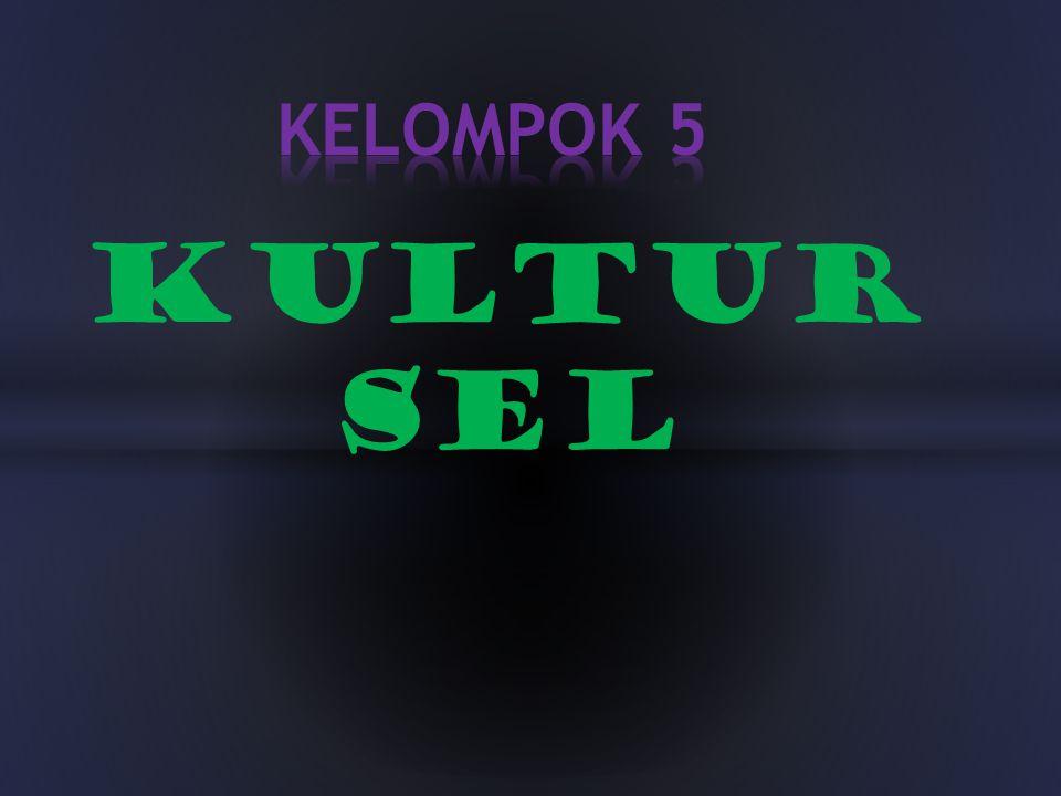 KELOMPOK 5 KULTUR SEL