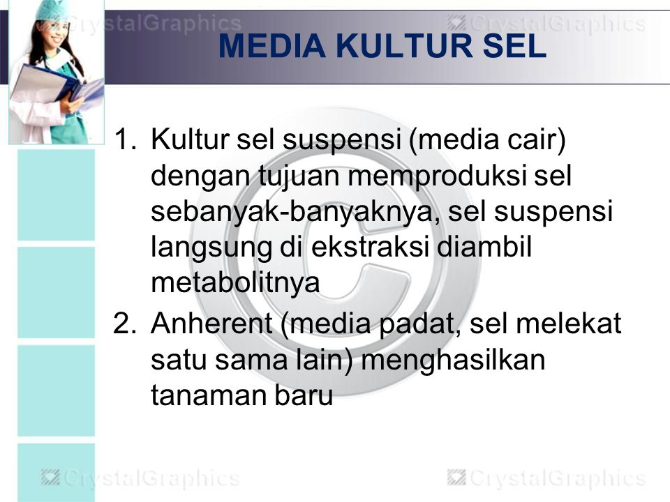 MEDIA KULTUR SEL