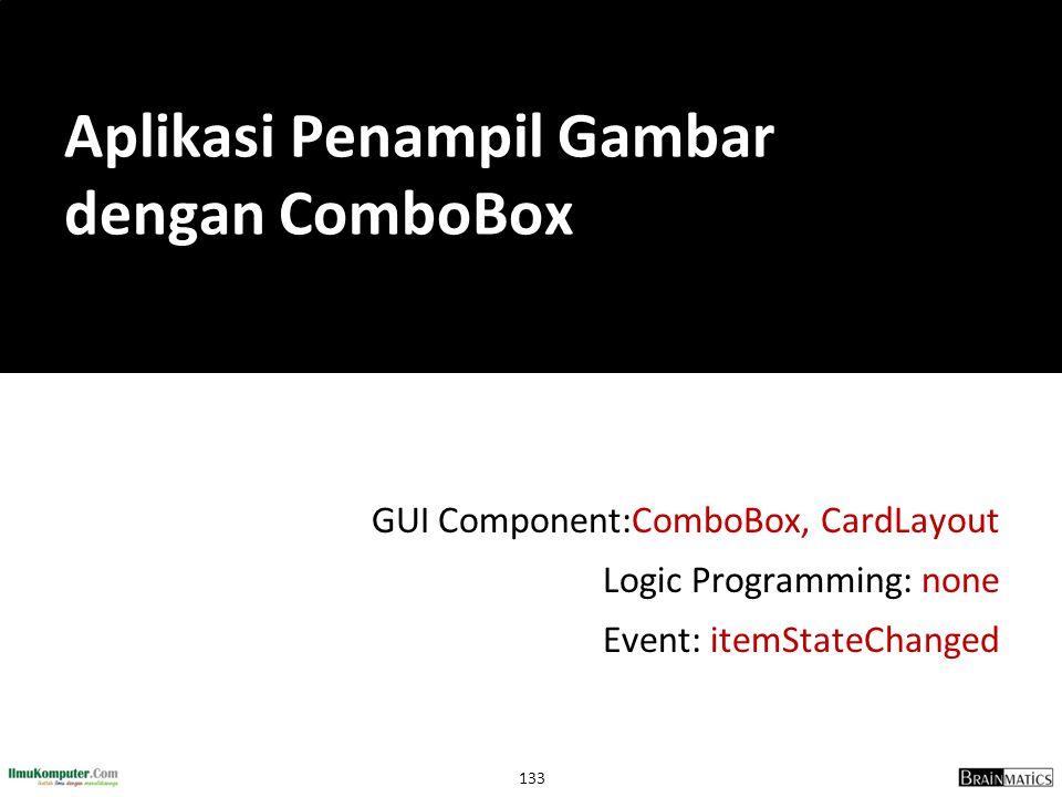 Aplikasi Penampil Gambar dengan ComboBox