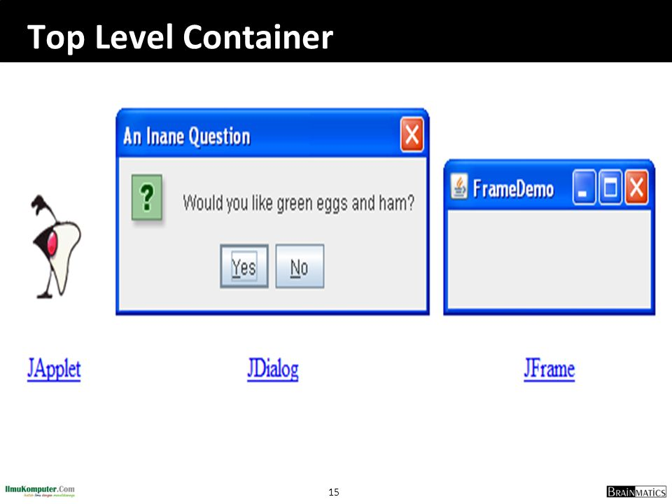 Top Level Container