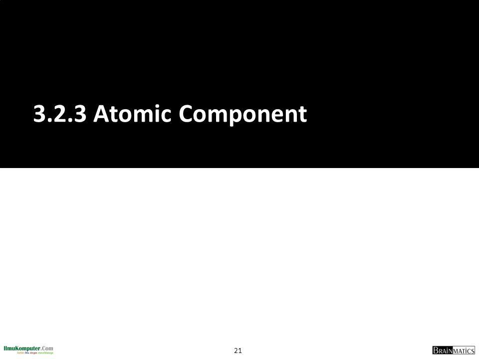 3.2.3 Atomic Component