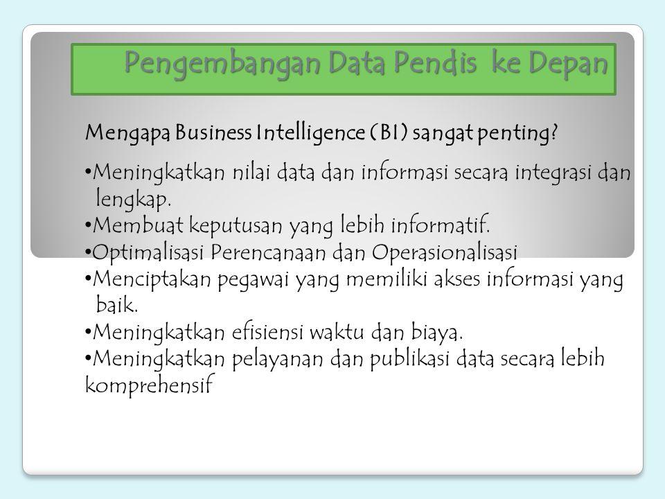 Pengembangan Data Pendis ke Depan