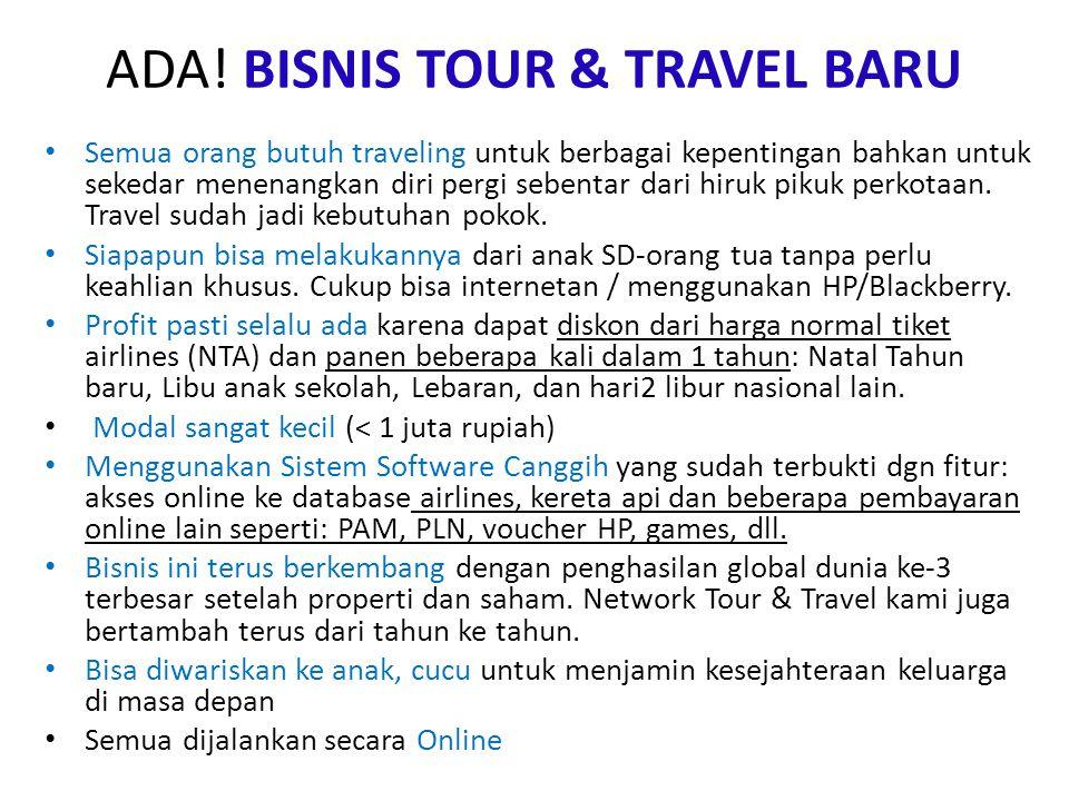 ADA! BISNIS TOUR & TRAVEL BARU
