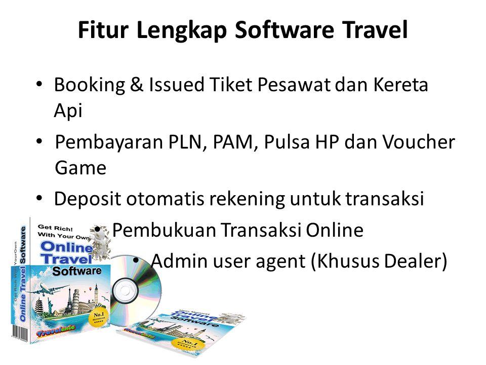 Fitur Lengkap Software Travel