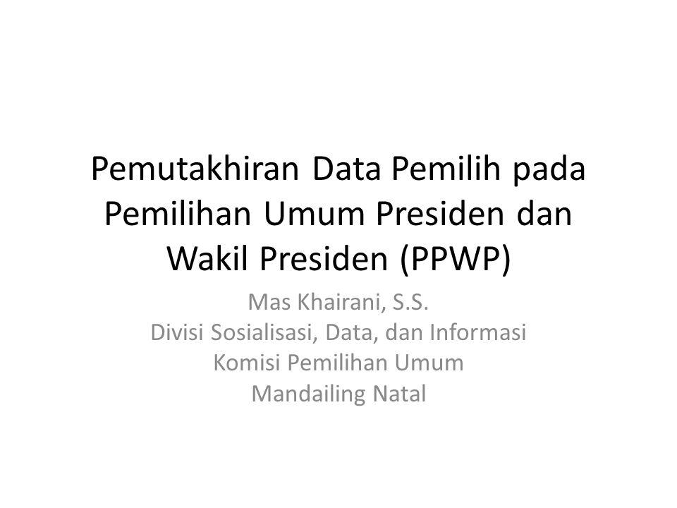 Divisi Sosialisasi, Data, dan Informasi
