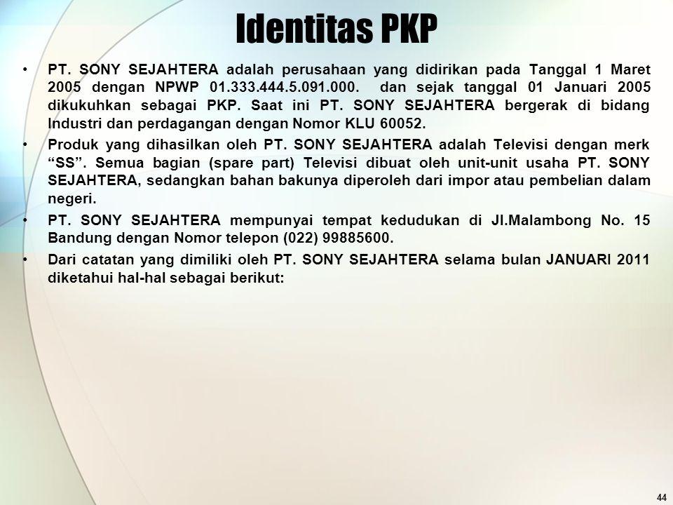 Identitas PKP