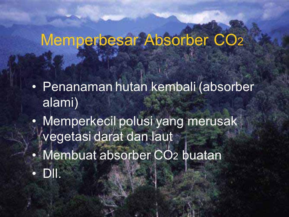 Memperbesar Absorber CO2
