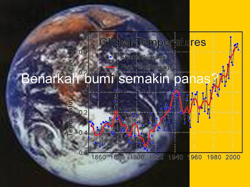 Benarkah bumi semakin panas