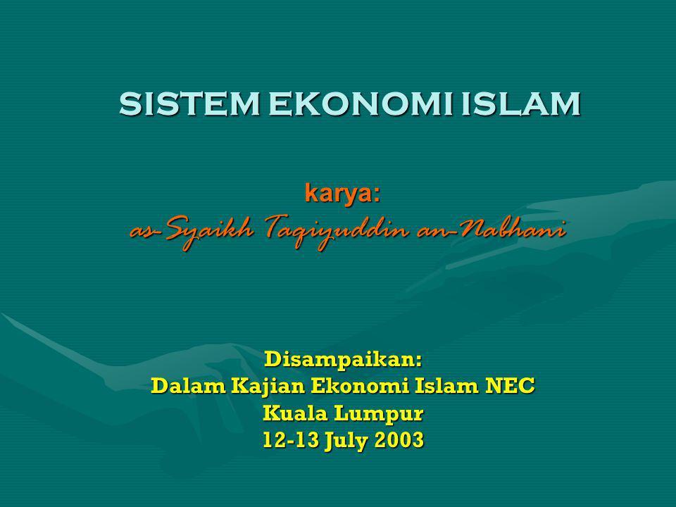 karya: as-Syaikh Taqiyuddin an-Nabhani