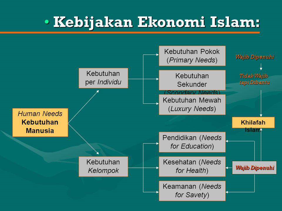 Kebijakan Ekonomi Islam:
