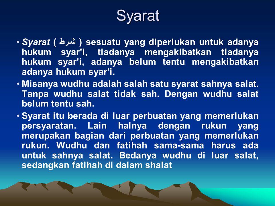 Syarat
