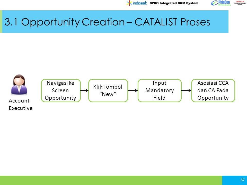 3.1 Opportunity Creation – CATALIST Proses
