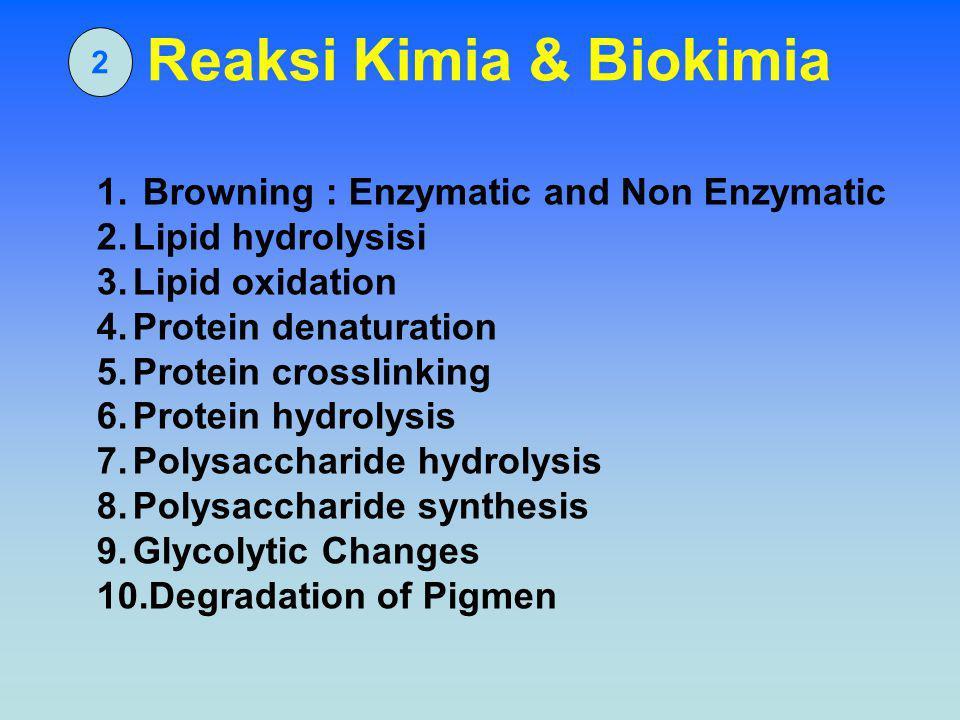 Reaksi Kimia & Biokimia