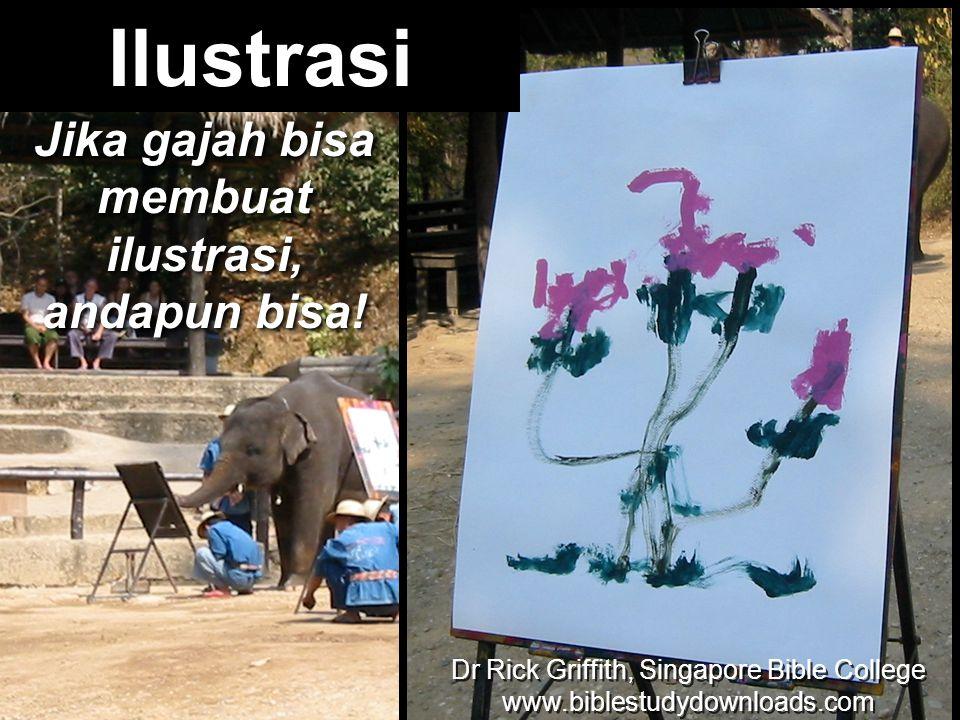 Jika gajah bisa membuat ilustrasi, andapun bisa!