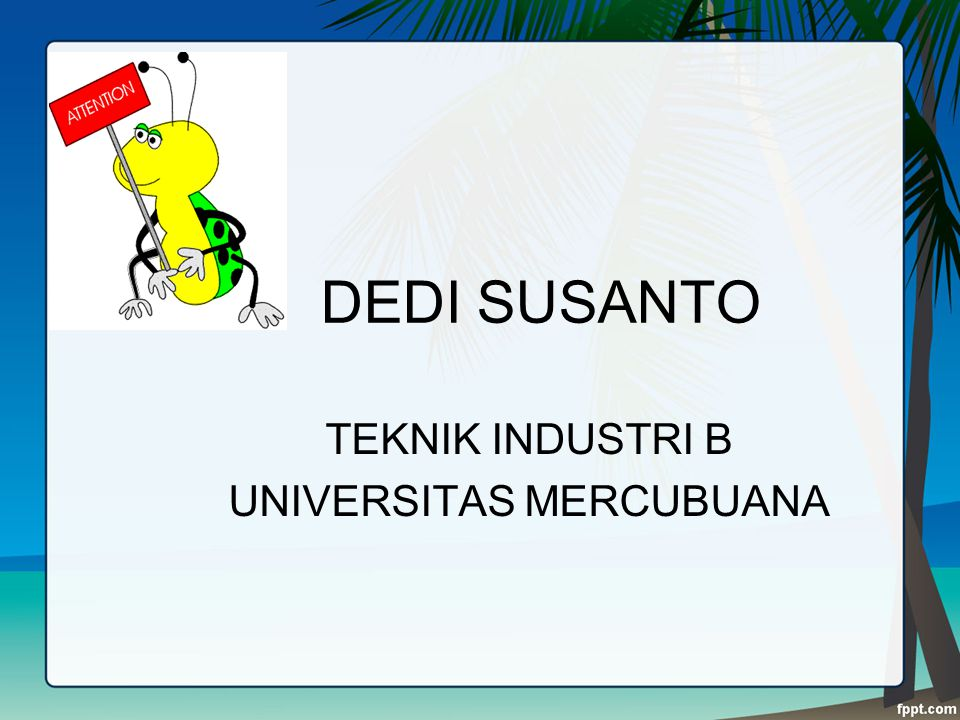 TEKNIK INDUSTRI B UNIVERSITAS MERCUBUANA