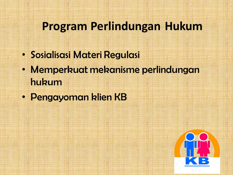Program Perlindungan Hukum