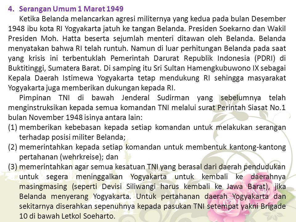 4. Serangan Umum 1 Maret 1949