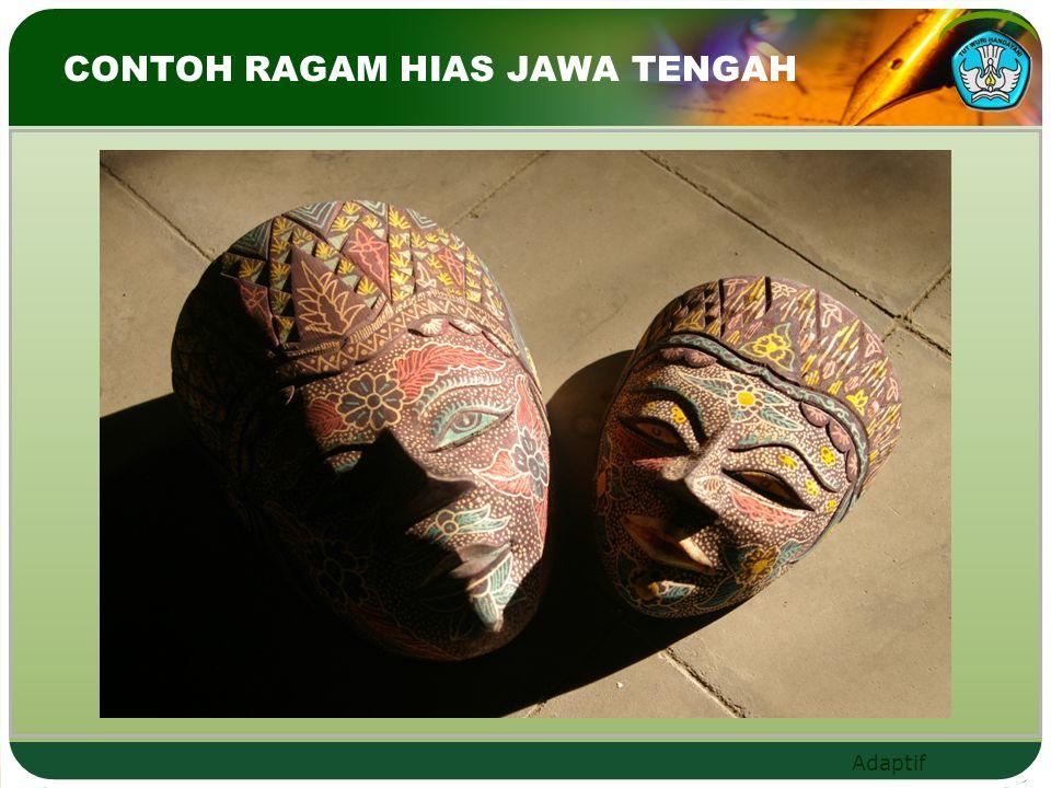 CONTOH RAGAM HIAS JAWA TENGAH