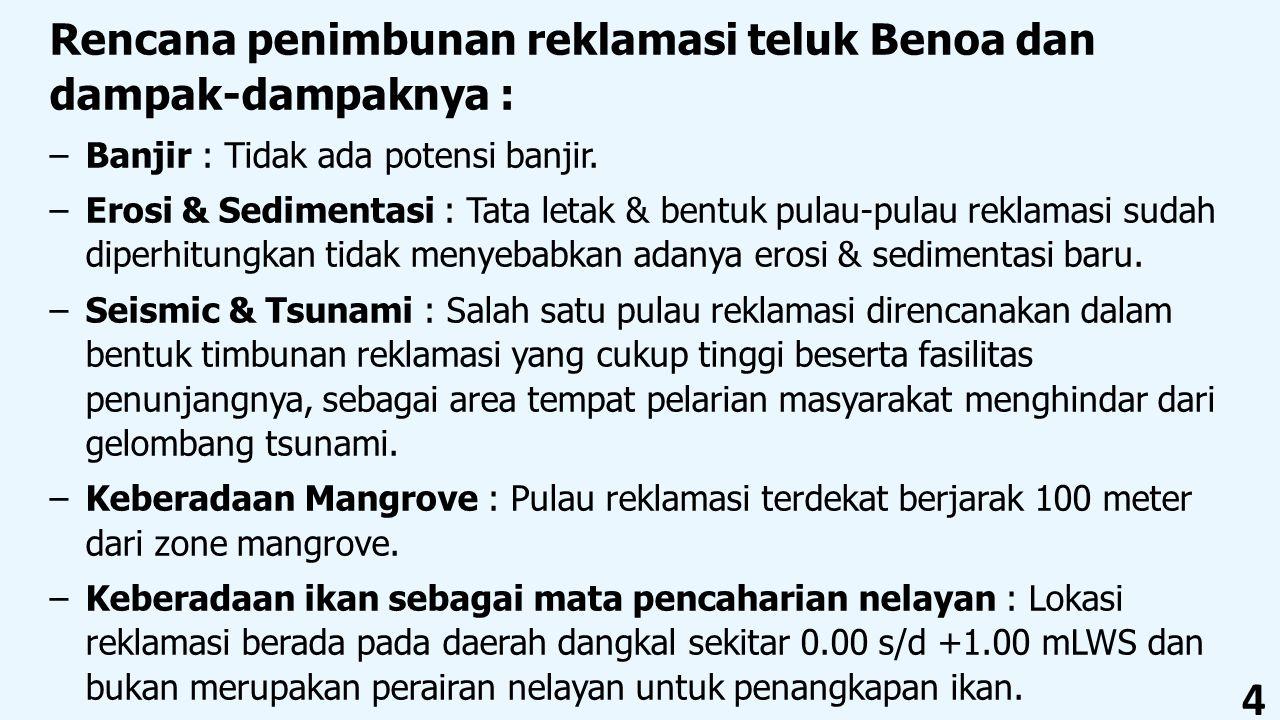 Rencana penimbunan reklamasi teluk Benoa dan dampak-dampaknya :