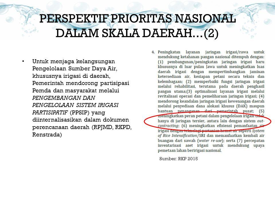 PERSPEKTIF PRIORITAS NASIONAL DALAM SKALA DAERAH...(2)
